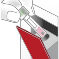 Bild von Schritt 3: Cartridge einführen, Start drücken -  fertig!
