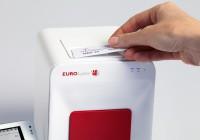 Foto des Geräts mit RFID Karte