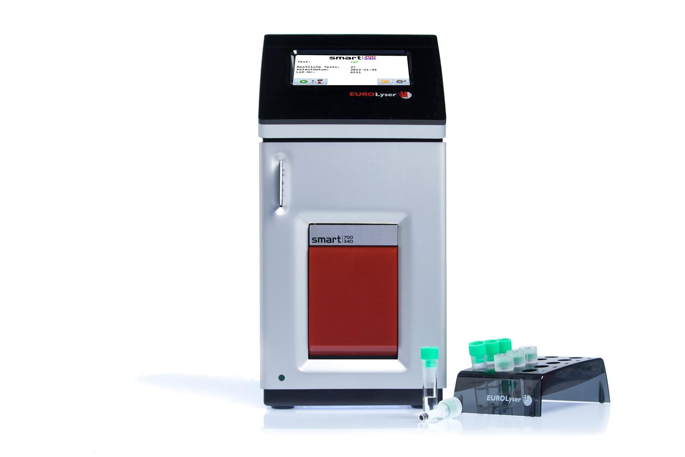 Eurolyser smart Laborfotometer mit CRP Test-Kit